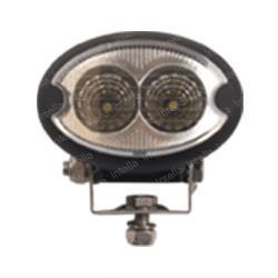 LED work light oval 12-28v DC 1350 lumen