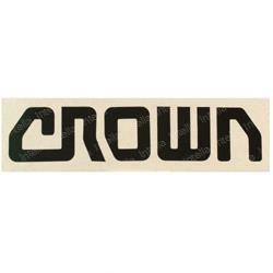 Crown 106158-001   Aftermarket Decal Crown