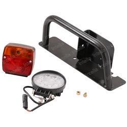 JLG 7150689S Roadlight Assy Rh Incl Lights