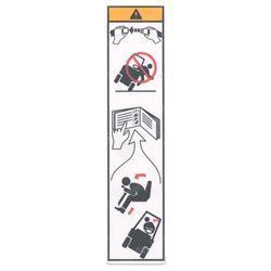 Yale 505973524 Sticker Instructions